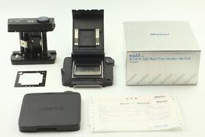 【UNUSED w/ BOX MASK】 MAMIYA RZ HA704 645 6x4.5 120 Film Back from Japan #134