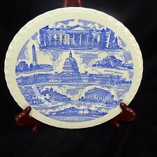 Antique Capsco Washington DC Capitol Souvenir Company plate National Gallery