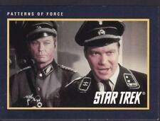 STAR TREK PATTERNS OF FORCE 1991 paramount Pictures Collection Cards # 179