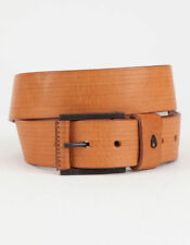 NEW NIXON Americana SE Belt Men's L Tan Leather $50 Retail