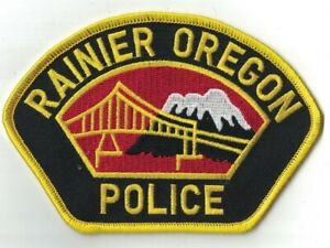 Rainer Police OREGON OR Police patch