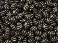 Antiqued Plastic Oval Jewellery Beads