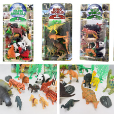 Plastic Animals 21 pce Set new Toys Farm Animals Wild Animals Farm Ocean