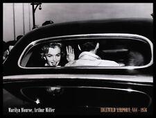 Corbis Bettmann Marilyn Monroe und Arthur Miller Poster Kunstdruck und Rahmen