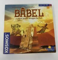 BABEL Rio Grande Board Game Uwe Rosenberg  Kosmos Game for Two 2 Player Complete
