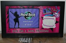 Hard Rock Park Rock and Roll Princess Picture Frame Amusement Park