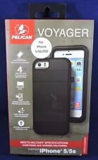 NEW!!! Pelican Voyager Case with Holster for iPhone 5 / 5s /SE  - Black