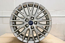 "1 x Origine FORD Focus Titane Zetec 17"" roue en alliage argent splitspoke"