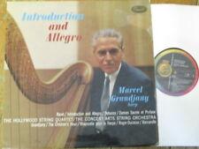 P 8492 Ravel Introduction and Allegro etc. / Grandjany / Hollywood Quartet RBW