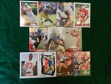 LOT OF ELEVEN (11) ALL DIFFERENT *J.J. STOKES* NFL CARDS