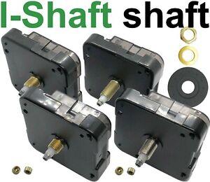 Quartz clock movement, I-shaft, Young Town 12888, all shaft lengths, UK fast des