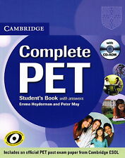 Cambridge COMPLETE PET Student's Book with Answers & CD-ROM | Heyderman; May NEW