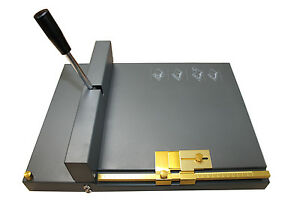 Scoring/Creasing and Perfing Machine for Heavy Duty for Card & Paper