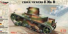 Vickers E Mk B-Settembre 1939 (Esercito Polacco MARCATURE) 1/72 Mirage