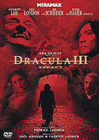 Wes Craven: Dracula III: Legacy [DVD], New, DVD, FREE & FAST Delivery