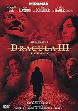 Jason Scott Lee, Stephen Bi...-Dracula 3 - Legacy DVD NEW