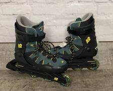VTG NWT K2 Ascent Roller Blade Skates Green Yellow Black Men's US Size 9 READ