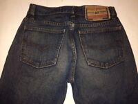 Diesel Industry Men's Bootcut Denim Jeans Size 28 x 34
