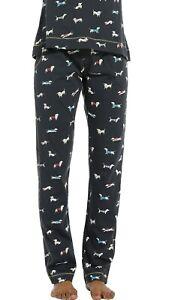 Ladies Pyjama Bottoms   Rebelle   Dachshund   Size : 18  Colour : Multi