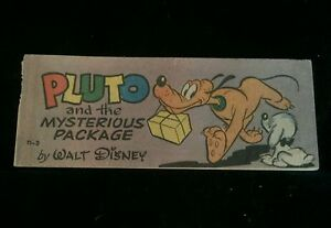 Wheaties Cereal Giveaway Comic Disney - Pluto and the Mysterious Package