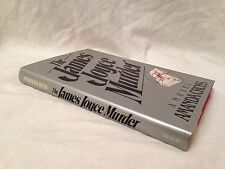 Amanda Cross - SIGNED The James Joyce Murder - First Dutton Printing 1982
