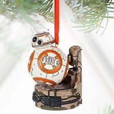 Disney Parks Store BB-8 Light-Up Sketchbook Ornament Star Wars The Force Awakens