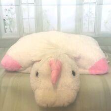 Pillow pets large white unicorn  60cm soft plush genuine