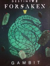 Destiny 2 Forsaken Gambit Emblem Redemption Code