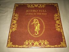 "Vintage 1972 Jethro Tull ""Living in the Past"" Double LP -Chrysalis (2CH-1035) NM"