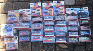 30 Plus Disney Pixer Cars Brand New/ Cardboard Has Shelf Wear