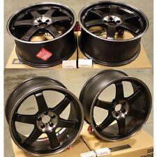 Volk Racing TE37 SL Super Lap BLACK EDITION 18x8.5 FOR Subaru BRZ/Scion FRS/WRX
