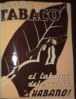 1940 Antilles Cigars & Tobacco ~ Monthly Vintage MAGAZINE REVISTA TABACO HABANO