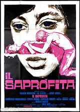 IL SAPROFITA MANIFESTO CINEMA SYMEONI EROTICO SEXY THE PROFITEER MOVIE POSTER 4F