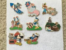 Pin Set 55526 DisneyShopping.com Fourth of July 2007 Mystery 8 Pin Complete Set