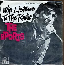7inch THE SPORTS who listens to the radio HOLLAND 1979 EX +PS