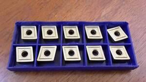 STELLRAM Carbide Tips Inserts CNMP 120408 10Pcs