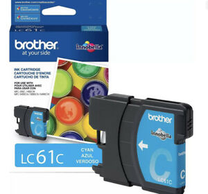 Brother LC 61 Cyan Ink Cartridge Standard (LC61CS) 739233 FREE SHIPPING