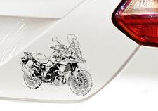 V-Strom 1000  Auto Motorrad Aufkleber Sticker