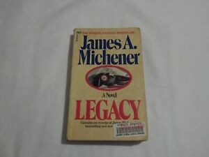 LEGACY BY JAMES A. MICHENER, 1998 P0CKETBOOK..