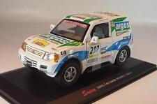 Saico 1/32 Mitsubishi Pajero Dakar 2002 in Plexi-Box #2611