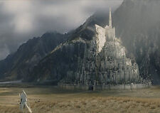 POSTER A4 PLASTIFIE-LAMINATED(1 FREE/1 GRATUIT)*LORD OF THE RING MINAS TIRITH.