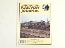 GREAT WESTERN RAILWAY JOURNAL NO 6 SPRING 1993 (LOOK)
