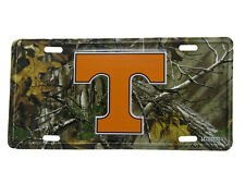 """Tennessee Volunteers VOLS Camo Camouflage 6""""x12"""" Aluminum License Plate Tag"""