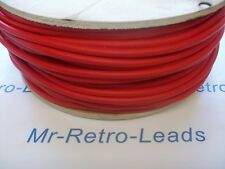 RED 7MM TINNED SILICONE HT IGNITION LEAD COPPER CORE CABLE  X 1 FULL METER
