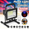 900W 256LED Portable Rechargeable Flood Light Spot Work Camping Outdoor Lamp USB