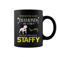 My Staffy - Staffordshire Bull Terrier - Staffie Is My Best Friend Coffee Mug