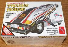 AMT Larry Fullerton's Trojan Horse Mustang II Funny Car Model Kit 1/25