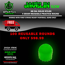 Javelin Glow First Strike Style .68 Caliber 4 Gram Reusable Nylon Hard Rounds