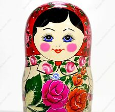 "14"" BIG 20 PIECES RUSSIAN TRADITIONAL MATRYOSHKA NESTING DOLLS SEMYONOV 20PCS"