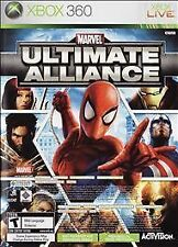 Marvel: Ultimate Alliance/Forza Motorsport 2 (Microsoft Xbox 360, 2007) GOOD